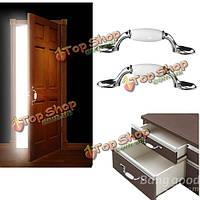 Белый керамический шкаф шкаф кухонный двери тянет ручки ящика ручки 76мм
