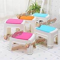 Дети бытовой пластиковый стул голубой розы занос стул