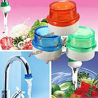 Мини-бытовые плагин фильтр для воды очиститель чистый простой кран кран пена кухня стиральная фрукты овощи домой