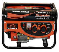 Генератор газ-бензин Vitals ERS 2.0bg (2,0 кВт, ручной стартер) Бесплатная доставка