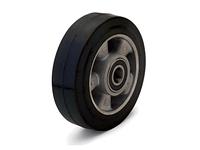 Колеса подрулевые для гидравлических тележек алюминий/резина диаметр 180 мм