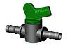 Кран для капельной трубы Irritec 16х16 (резьба ерш-ерш)