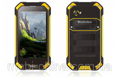 Смартфон Blackview BV6000 Octa core 3+32Gb Sunshine Yellow (IP68) ' 4