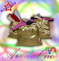 Подарочные мешочки (для тапочек и др.)