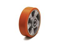 Колеса подрулевые для гидравлических тележек алюминий/полиуретан диаметр 180 мм