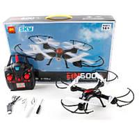 Квадрокоптер детский BN600: пульт р/у 2,4 GHz, свет, зарядка USB,2 запасные лопасти, 47х31,5х9 см