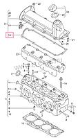Прокладка крышки ГБЦ на Volkswagen Caddy.Код:RC1627S