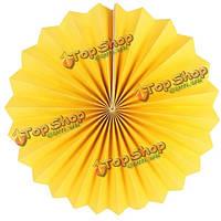 6шт фиеста бумажный веер висит украшения свадьбы домой на день рождения подарок благосклонности партии