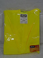 Майка желтая светоотражающая Elegant (пакет)