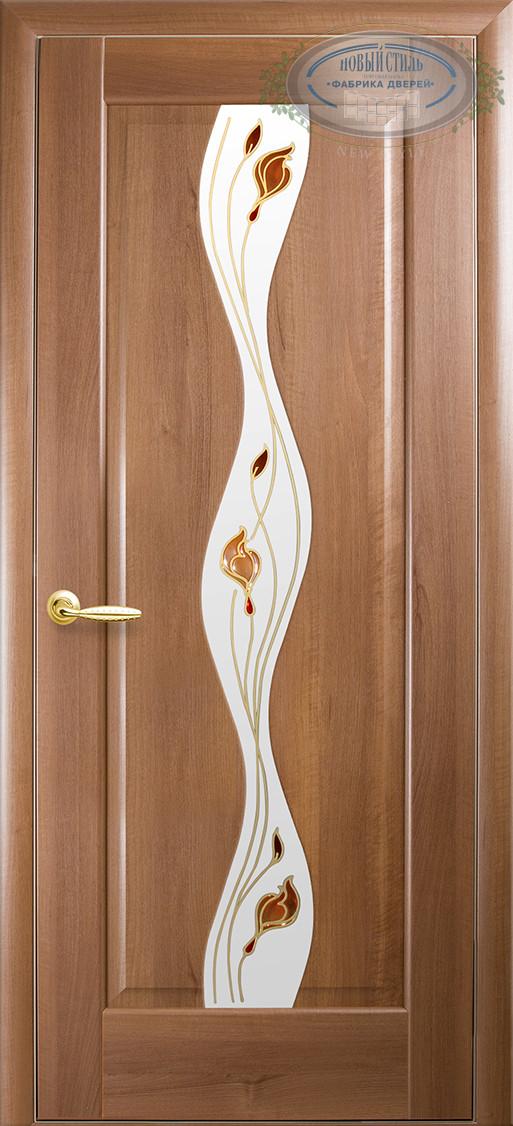 """Двери ВОЛНА """"Новый Стиль"""" с рисунком, фото 1"""