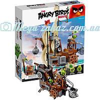 """Конструктор Angry Birds/Энгри бердс """"Пиратский корабль свинок"""": 650 деталей, 4 фигурки"""