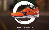 Обзор кроссовок Mizuno Wave Rider 20