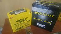 Аккумулятор для мотоцикла гелевый MOTOBATT  AGM 21Ah  310A  размер 175 x 87 x 155 мм с проставкой  MBTX20U