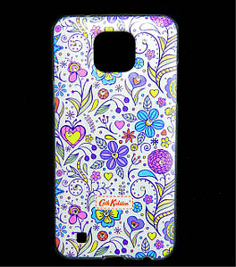 Чехол накладка для LG X Cam K580ds силиконовый Diamond Cath Kidston, Цветочная фантазия