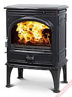 Чугунная мульти печь Dovre 425 GM/E10 глянцевый черный