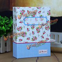 Интерстициальный 100 цветочный обложка альбома 6-дюймовый фотоальбом юбилейный подарок сувенир