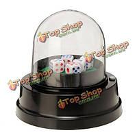 Автомат кости чашки машина китайский Sic Bo большой небольшая игра с 5 кубиков для партии и сбора