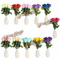 Моделирование искусственных роз мыло цветок за подарок дня свадебного банкета Домашнее украшение Валентина