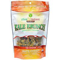 Alive & Radiant, Kale Krunch, The Original, Quite Cheezy, 2.2 oz (63 g)