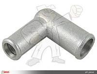 Коліно сполучне алюміній 19x16mm