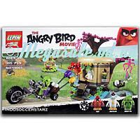 """Конструктор Angry Birds/Энгри бердс """"Кража яиц с Птичьего острова"""": 305 деталей, 3 фигурки"""