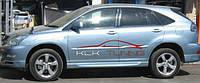Тюнинг пороги (Sport) Lexus RX-350