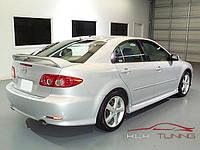 Тюнинг пороги Mazda 6 2003-2007