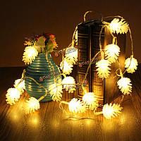 Гирланда новогодняя Шишка 20 LED 2.2м