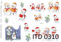 Декупажная карта ITD 0310