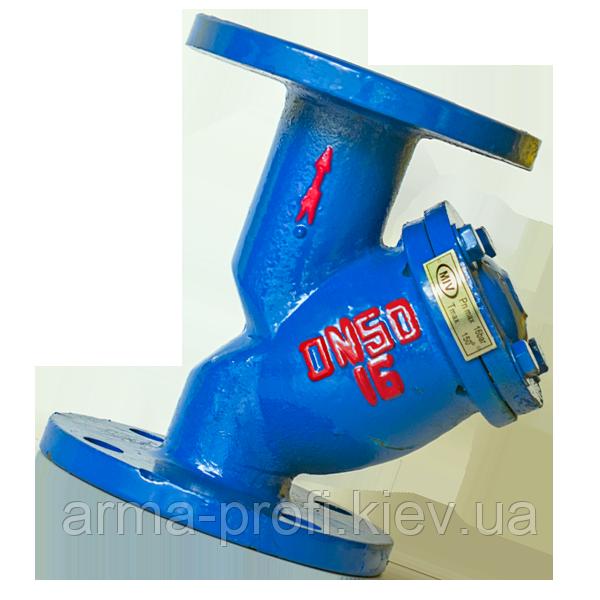 Фильтр сетчатый фланцевый чугунный MIV (Китай) Ду 40