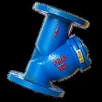 Фильтр сетчатый фланцевый чугунный MIV (Китай) Ду 100, фото 1
