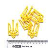 Вырубки из фетра ТРИЗУБ, 5 шт, желтый