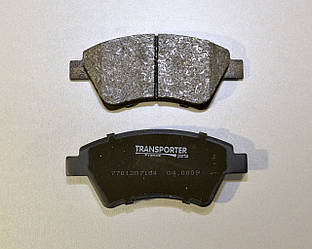 Дискові гальмівні колодки передні на Renault Kangoo (4х4) 1998->2008 Transporterparts (Франція) 04.0183