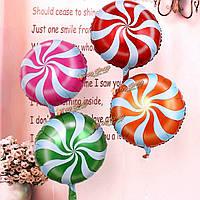 18-дюймов леденцы конфеты кручения день рождения украшение воздушными шарами