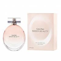 Женская парфюмированная вода Calvin Klein Sheer Beauty (Кельвин Кляйн Шер Бьюти)