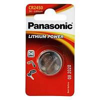 Литиевая батарейка panasonic cr 2450 bli 1 lithium