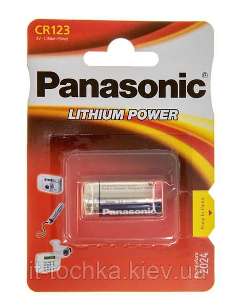 Литиевая батарейка panasonic cr 123 lithium