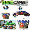 """Форми для солодощів Plants vs. Zombies - """"Paper Cupcake"""" - 6 шт"""