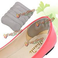 1 пара кожаных ботинок ноги уход за ногами запустить ходьбы внутри мягкий утолщение защита пятки арка подушки коврики колодки