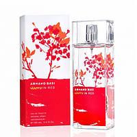 Женская туалетная вода Armand Basi Happy in Red (Арманд Баси Хэпи Ин Рэд)