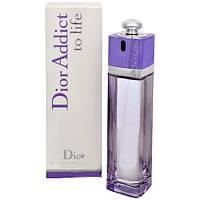 Женская туалетная вода Christian Dior Addict to Life (Кристиан Диор Аддикт Ту Лайф)