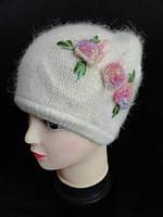 Женские вязанные зимние шапки, фото 1
