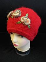 Женские шапки с ангорки купить