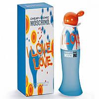 Женская туалетная вода Moschino Cheap and Chic I Love Love (Москино Чип энд Чик Ай Лав Лав)