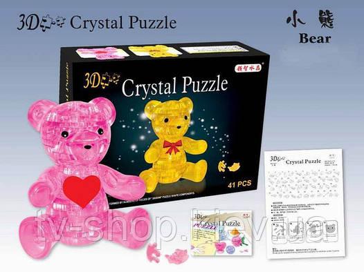 Мишка Crystal Puzzle 3D головоломка