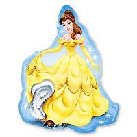 Принцессы, Рапунцель, Золушка, Белль, фольгированный шарик с гелием, фото 1