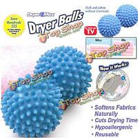2шт стиральной сушилки мяч никакие химикаты не смягчить ткань смягчитель ткани сушки