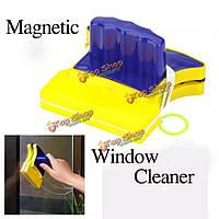 Магнитное мастер двойное окно боковые стекла очиститель стекла полезной площади кисть