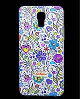 Чехол накладка для LG X Screen / LG X View K500DS силиконовый Diamond Cath Kidston, Цветочная фантазия