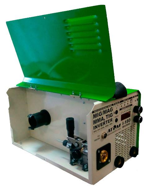 Сварочный инверторный полуавтомат Атом I-180 MIG/MAG (3в1)